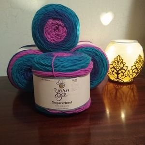 Yarn Bee Sugarwheel acrylic yarn